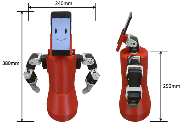 A Socially Interactive Robot Partner Using Content-Based Conversation System for Information Support