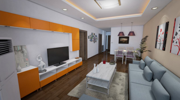The Discussion on Interior Design Mode Based on 3D Virtual Vision Technology