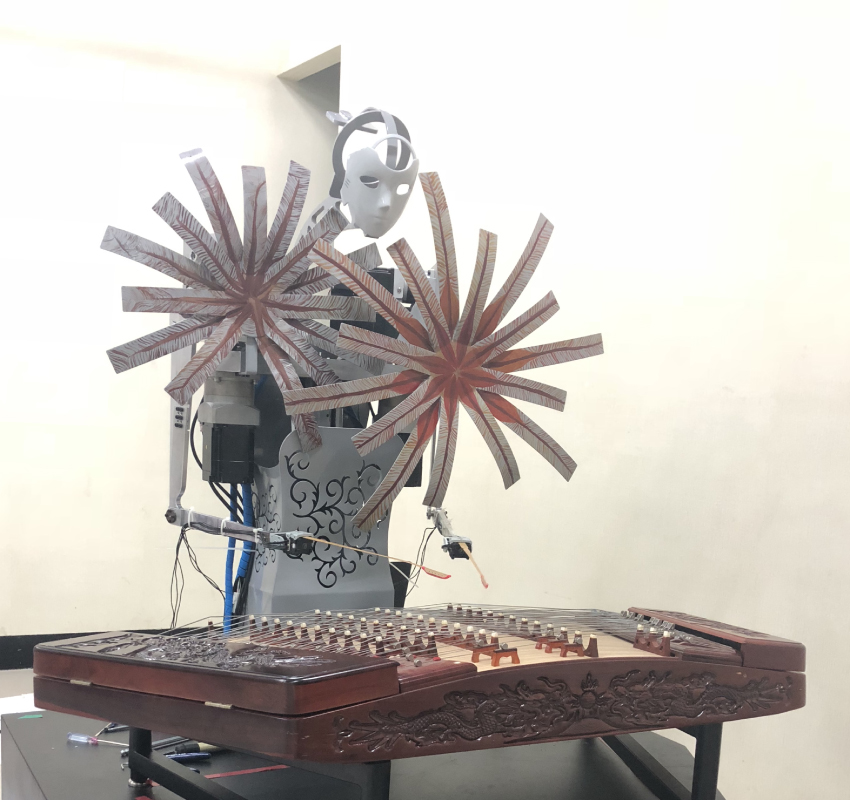 Neural Network Based Online Anthropomorphic Performance Decision-Making Approach for Dual-Arm Dulcimer Playing Robot