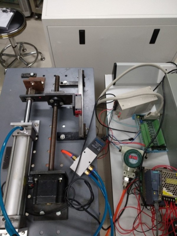 Improved Model-Free Adaptive Control of Pneumatic Gravity Compensation System