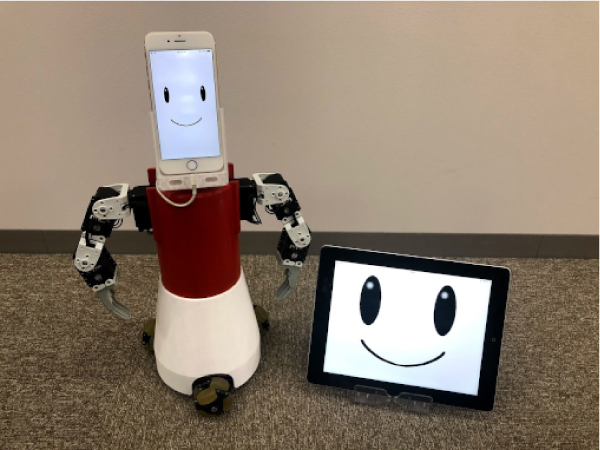 An Expansion and Application of Human Coexistence Robot System Using Smart Devices