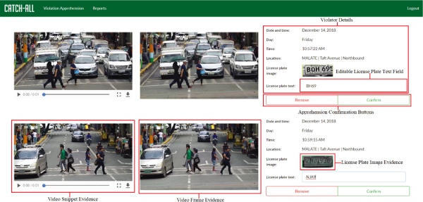 Artificial Intelligence Software Application for Contactless Traffic Violation Apprehension in the Philippines
