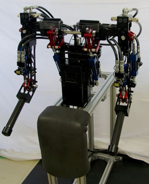 Prototyping Force-Controlled 3-DOF Hydraulic Arms for Humanoid Robots