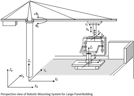 Planning of Movements of Building Robots with Speed Optimization
