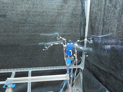 Reduced-Order Observer Based Sliding Mode Control for a Quad-Rotor Helicopter