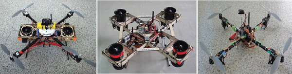 Flight Characteristics of Quad Rotor Helicopter with Thrust Vectoring Equipment