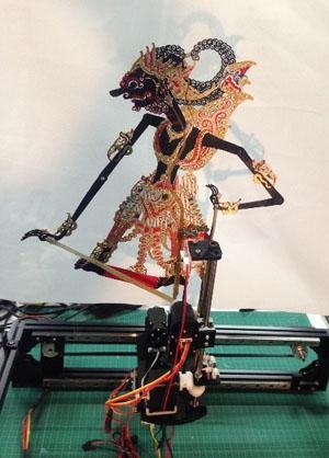 Wayang Robot with Gamelan Music Pattern Recognition