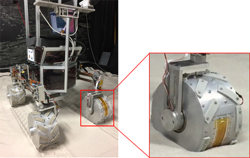 Wheel Slip Classification Method for Mobile Robot in Sandy Terrain Using In-Wheel Sensor