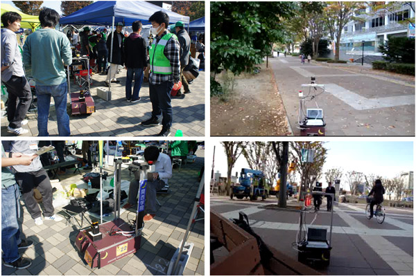 Student Education Utilizing the Development of Autonomous Mobile Robot for Robot Competition