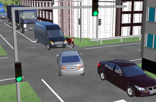 Risk Predictive Driver Assistance System for Collision Avoidance in Intersection Right Turns