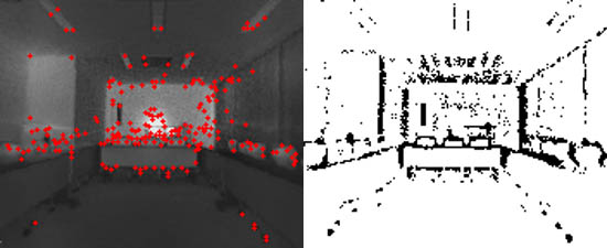 Computationally Efficient Mapping for a Mobile Robot with a Downsampling Method for the Iterative Closest Point