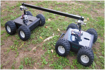 Sensor Data Fusion of a Redundant Dual-Platform Robot for Elevation Mapping
