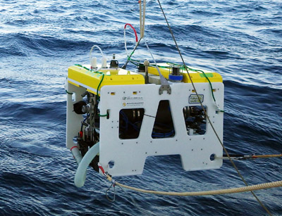 Underwater Platform for Intelligent Robotics and its Application in Two Visual Tracking Systems