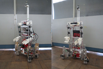 Development of Educational Service Robot and Practical Training