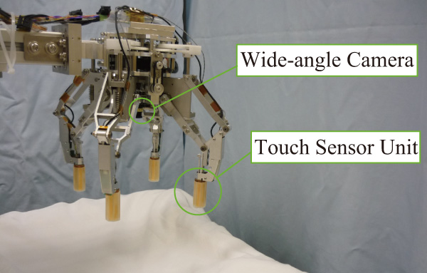 Four-Fingered Robot Hand with Mechanism to Change the Direction of Movement – Mechanical Design and Basic Experiments –