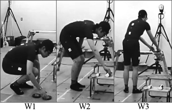 Feature Selection for Work Recognition and Working Motion Measurement