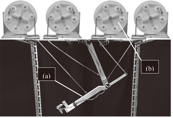 Utilizing the Nonlinearity of Tendon Elasticity for Compensation of Unknown Gravity of Payload