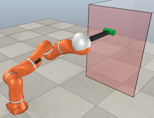 Adaptive Generalized Predictive Controller and Cartesian Force Control for Robot Arm Using Dynamics and Geometric Identification