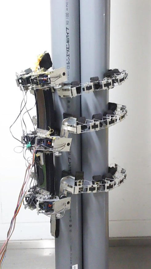 TAOYAKA-III: A Six-Legged Robot Capable of Climbing Various Columnar Objects