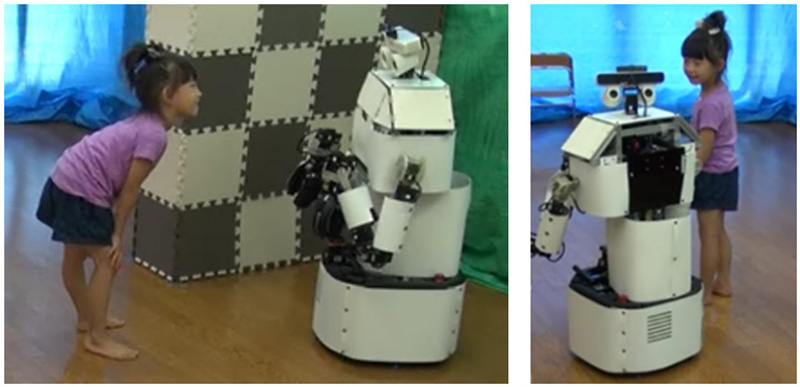 Estimating Children's Personalities Through Their Interaction Activities with a Tele-Operated Robot