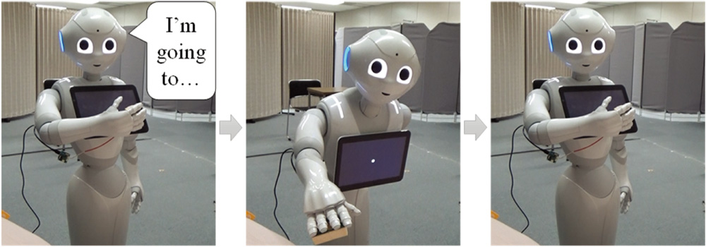 Gaze-Height and Speech-Timing Effects on Feeling Robot-Initiated Touches
