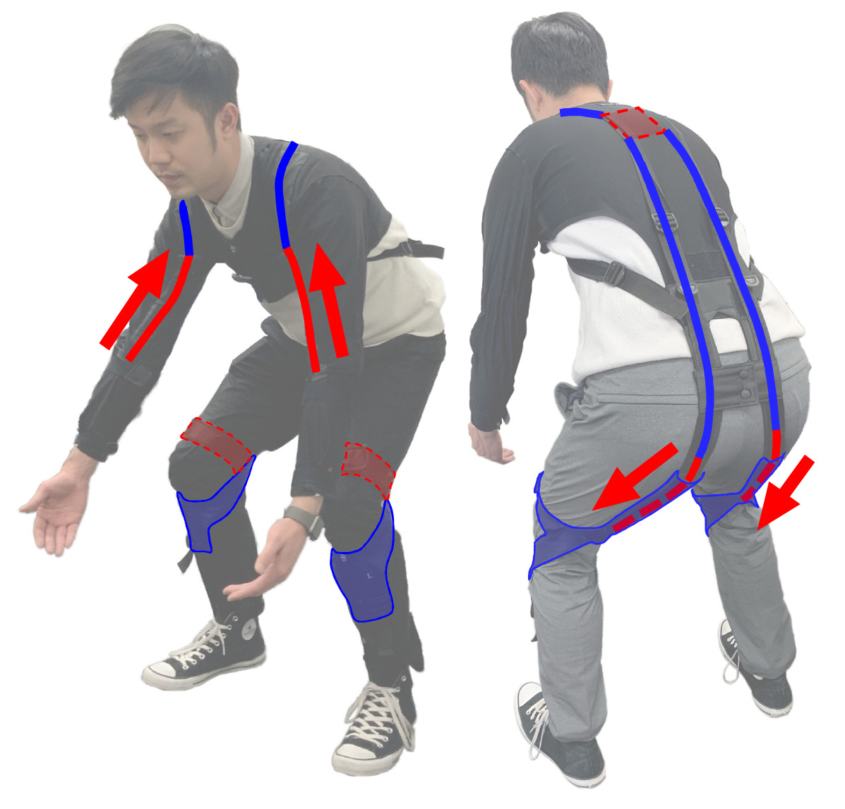 Development and Evaluation of a Close-Fitting Assistive Suit for Back and Arm Muscle – e.z.UP<sup>®</sup>–