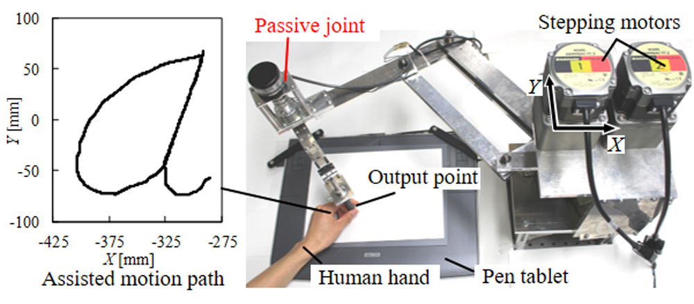 Motion-Assist Arm with a Passive Joint for an Upper Limb