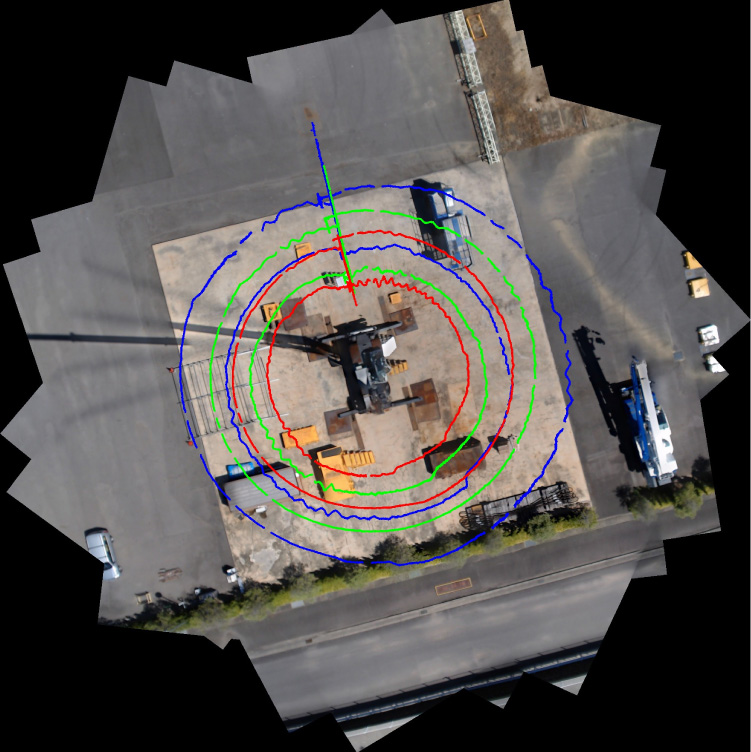 Generating a Visual Map of the Crane Workspace Using Top-View Cameras for Assisting Operation