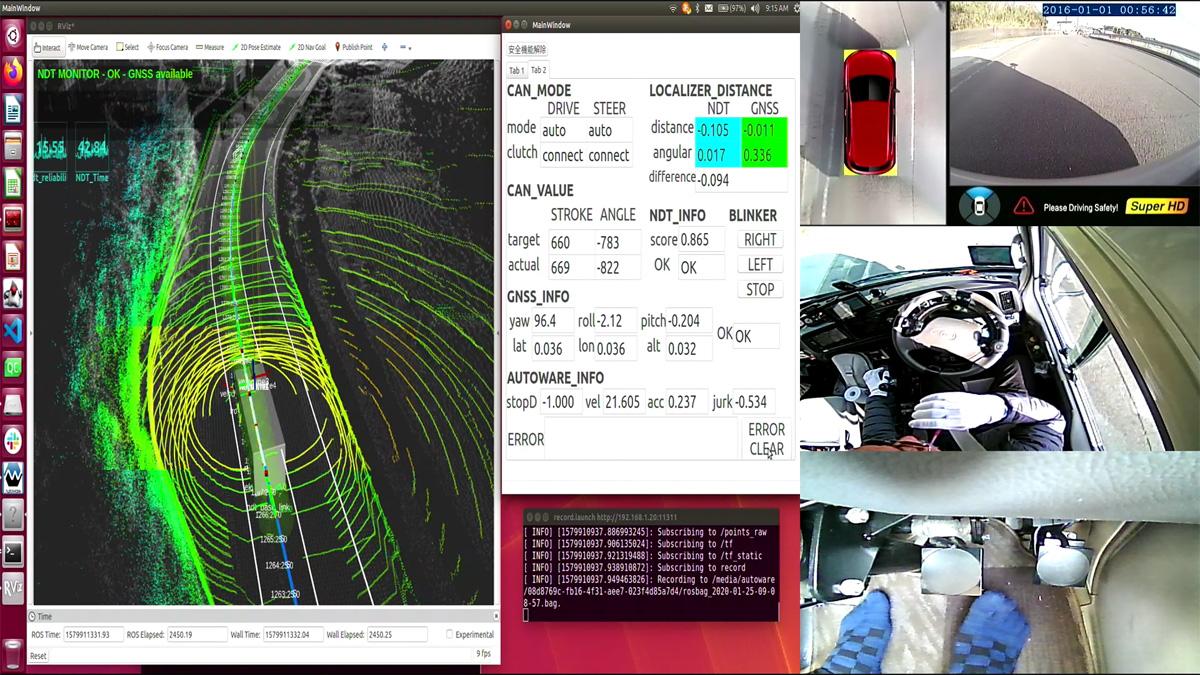 ACDR: Autonomous-Car Drive Recorder