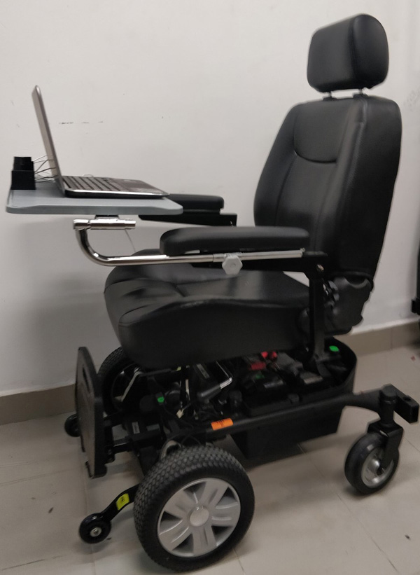 Indirect Control of an Autonomous Wheelchair Using SSVEP BCI