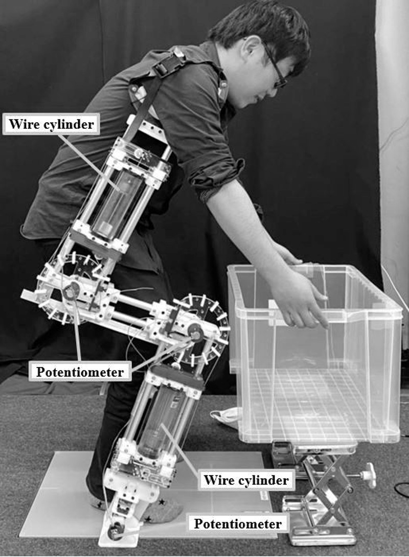 Development of Non-Wearing Type Pneumatic Power Assist Device – Basic Concept and Performance Evaluation –