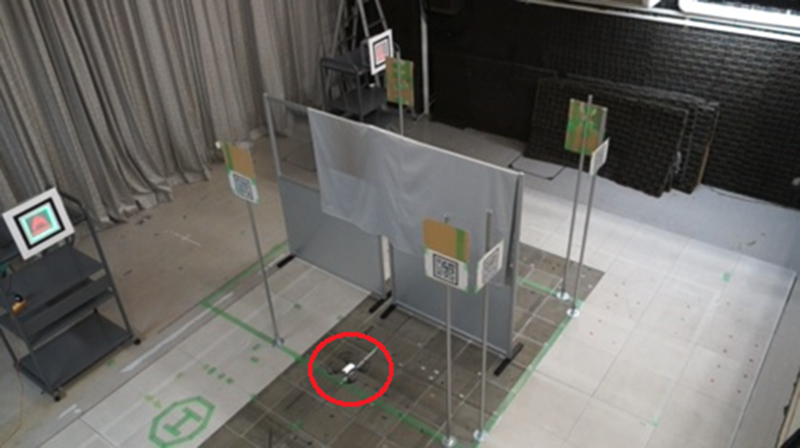 Indoor Unmanned Aerial Vehicle Navigation System Using LED Panels and QR Codes