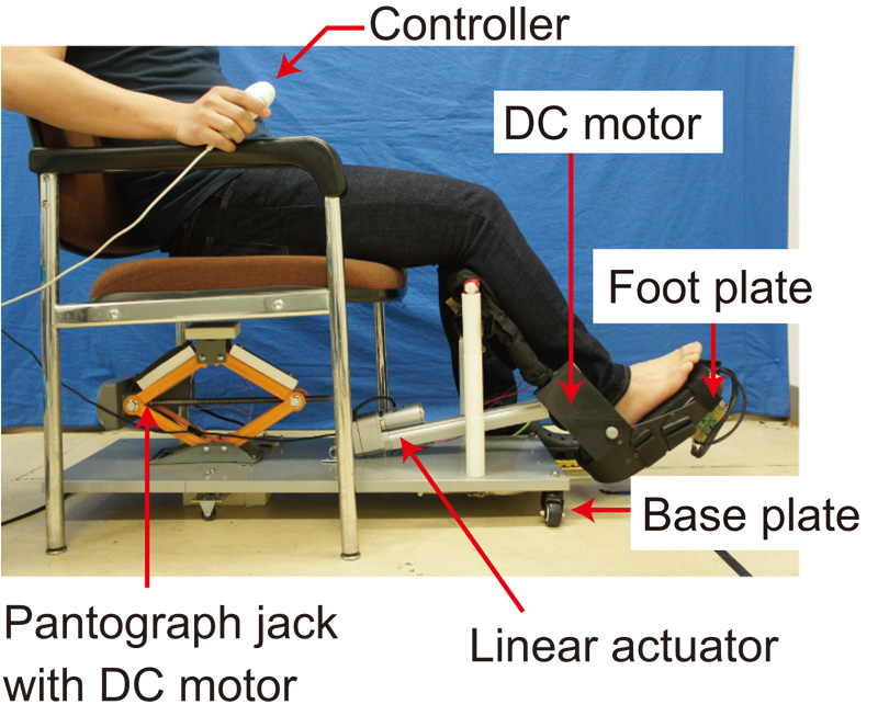 Ankle Joint Stretching Device Using Tension Rod for Self Rehabilitation