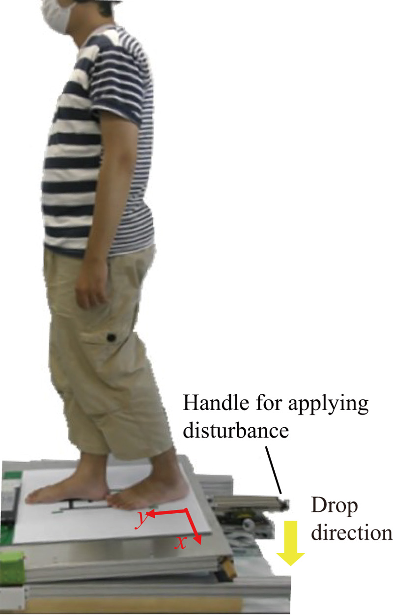 Evaluation of Muscle Activity and Human Standing Stability Index Using the Swash Plate in a Disturbance Application
