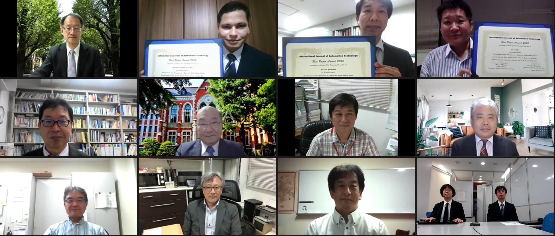 IJAT Best Paper Award 2020
